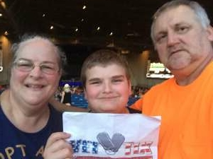 Darrell Garren attended An Evening With Chicago and Their Greatest Hits on Jun 29th 2021 via VetTix