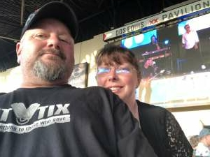 rajun_cajun attended An Evening With Chicago and Their Greatest Hits on Jun 26th 2021 via VetTix