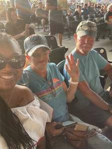 Raina attended An Evening With Chicago and Their Greatest Hits on Jun 26th 2021 via VetTix