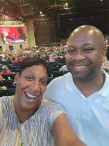 Coretta  attended An Evening With Chicago and Their Greatest Hits on Jun 26th 2021 via VetTix
