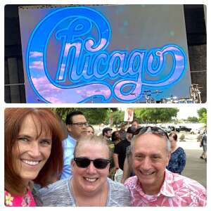 Cap'n Maynard attended An Evening With Chicago and Their Greatest Hits on Jun 26th 2021 via VetTix