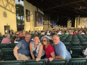 Bob attended An Evening With Chicago and Their Greatest Hits on Jun 26th 2021 via VetTix
