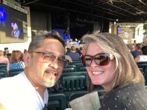 Redd and Laura attended An Evening With Chicago and Their Greatest Hits on Jun 26th 2021 via VetTix