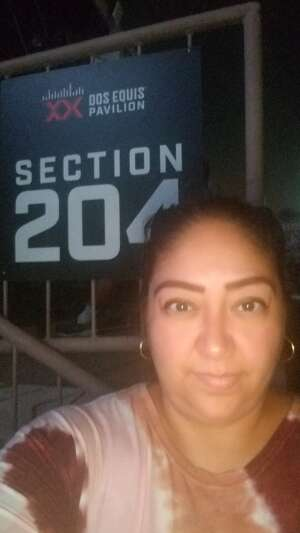 Andrea attended An Evening With Chicago and Their Greatest Hits on Jun 26th 2021 via VetTix