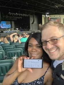 James attended An Evening With Chicago and Their Greatest Hits on Jun 26th 2021 via VetTix