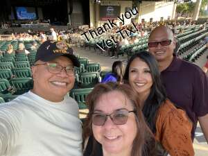 Isaac Cruz attended An Evening With Chicago and Their Greatest Hits on Jun 26th 2021 via VetTix