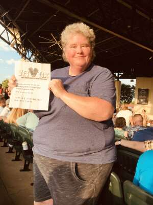 Mary Schnickel attended An Evening With Chicago and Their Greatest Hits on Jun 26th 2021 via VetTix