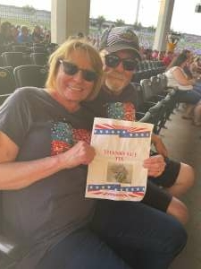 Sarah attended An Evening With Chicago and Their Greatest Hits on Jun 26th 2021 via VetTix