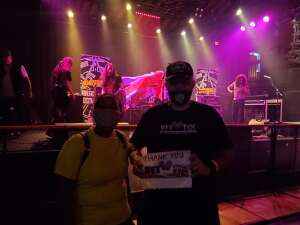 Landmine attended Excitable the Ultimate Def Leopard Tribute on Sep 17th 2021 via VetTix