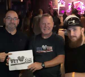 RPG attended Excitable the Ultimate Def Leopard Tribute on Sep 17th 2021 via VetTix