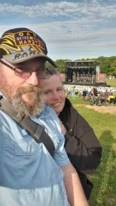 John attended 38 Special With Molly Hatchet on May 15th 2021 via VetTix