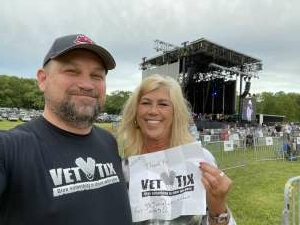 Jeff Z attended 38 Special With Molly Hatchet on May 15th 2021 via VetTix