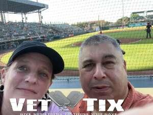 Bradenton Marauders attended Bradenton Marauders vs. Palm Beach Cardinals - MiLB - Military Appreciation Night on May 29th 2021 via VetTix