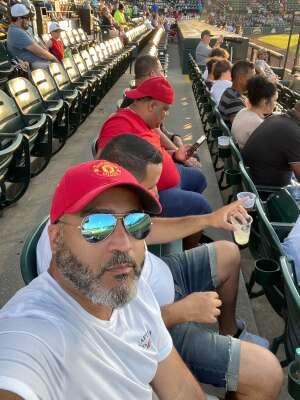 Grateful attended Bradenton Marauders vs. Palm Beach Cardinals - MiLB - Military Appreciation Night on May 29th 2021 via VetTix