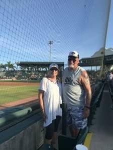 Great night  attended Bradenton Marauders vs. Palm Beach Cardinals - MiLB - Military Appreciation Night on May 29th 2021 via VetTix