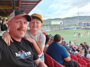 Kelly attended Utah Warriors vs. The Austin Gilgronis - Military Appreciation Day Game on May 29th 2021 via VetTix