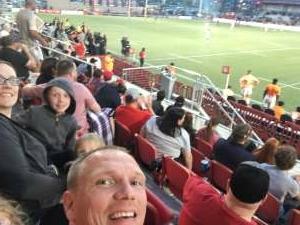 Dan attended Utah Warriors vs. The Austin Gilgronis - Military Appreciation Day Game on May 29th 2021 via VetTix