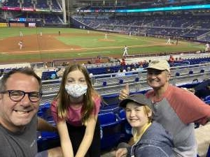 Deano attended Miami Marlins vs. Philadelphia Phillies - MLB on May 25th 2021 via VetTix
