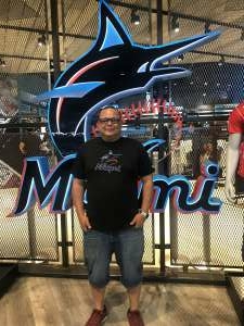 Estevan attended Miami Marlins vs. Philadelphia Phillies - MLB on May 25th 2021 via VetTix