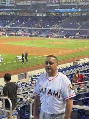 Hector C. attended Miami Marlins vs. Philadelphia Phillies - MLB on May 25th 2021 via VetTix