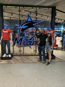 Laz attended Miami Marlins vs. Philadelphia Phillies - MLB on May 25th 2021 via VetTix