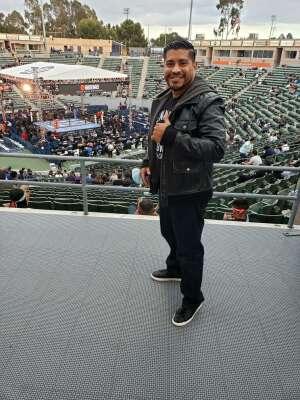 Steve attended Premier Boxing Champions: Nery vs. Figueroa on May 15th 2021 via VetTix