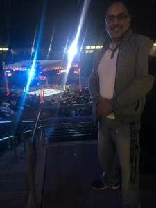 Eddie  attended Premier Boxing Champions: Nery vs. Figueroa on May 15th 2021 via VetTix