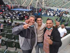 Luis B. attended Premier Boxing Champions: Nery vs. Figueroa on May 15th 2021 via VetTix