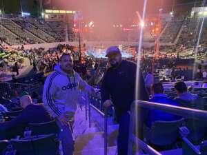 Richard attended Premier Boxing Champions: Nery vs. Figueroa on May 15th 2021 via VetTix
