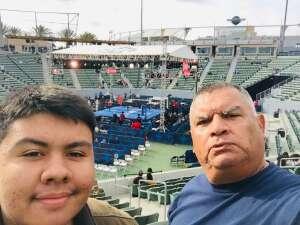 David attended Premier Boxing Champions: Nery vs. Figueroa on May 15th 2021 via VetTix