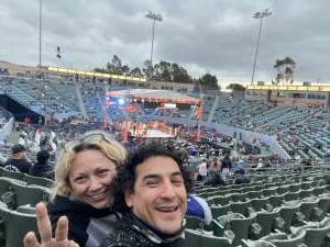Dame attended Premier Boxing Champions: Nery vs. Figueroa on May 15th 2021 via VetTix