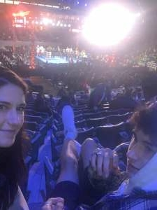 Mom and Son attended Premier Boxing Champions: Nery vs. Figueroa on May 15th 2021 via VetTix