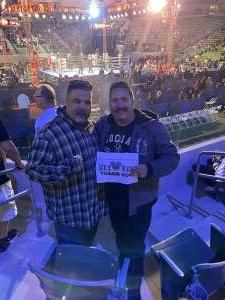 L Losa attended Premier Boxing Champions: Nery vs. Figueroa on May 15th 2021 via VetTix