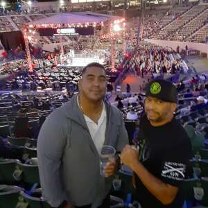 Justin attended Premier Boxing Champions: Nery vs. Figueroa on May 15th 2021 via VetTix