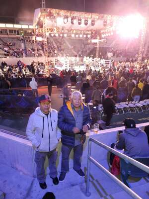Rich T attended Premier Boxing Champions: Nery vs. Figueroa on May 15th 2021 via VetTix