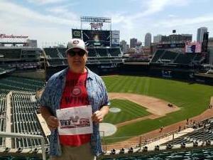 Gunnar O attended Minnesota Twins vs. Kansas City Royals - MLB on May 28th 2021 via VetTix