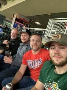 Mac3535 attended Minnesota Twins vs. Kansas City Royals - MLB on May 28th 2021 via VetTix