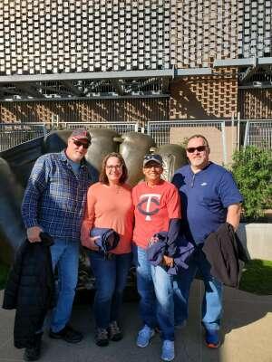 olaf424 attended Minnesota Twins vs. Kansas City Royals - MLB on May 28th 2021 via VetTix
