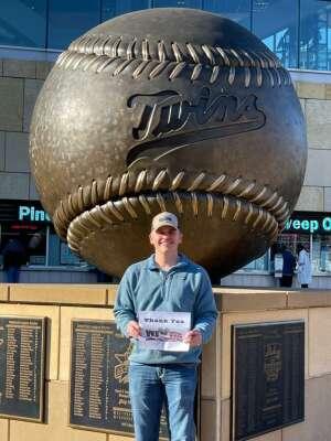 Rob attended Minnesota Twins vs. Kansas City Royals - MLB on May 28th 2021 via VetTix