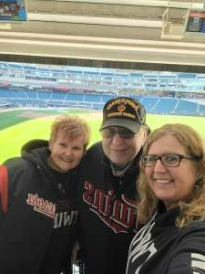 James attended Minnesota Twins vs. Kansas City Royals - MLB on May 28th 2021 via VetTix