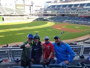Andy attended Minnesota Twins vs. Kansas City Royals - MLB on May 28th 2021 via VetTix