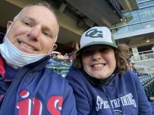 Brian attended Minnesota Twins vs. Kansas City Royals - MLB on May 28th 2021 via VetTix