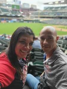 Jjti attended Minnesota Twins vs. Kansas City Royals - MLB on May 28th 2021 via VetTix
