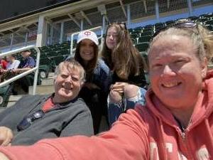 Hughes Family attended Minnesota Twins vs. Kansas City Royals - MLB on May 29th 2021 via VetTix
