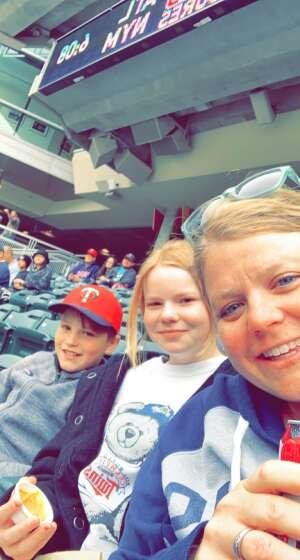 Becky attended Minnesota Twins vs. Kansas City Royals - MLB on May 29th 2021 via VetTix