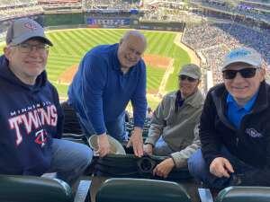 GW attended Minnesota Twins vs. Kansas City Royals - MLB on May 29th 2021 via VetTix