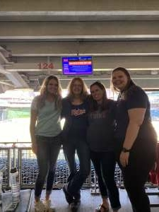 Justine  attended Minnesota Twins vs. Kansas City Royals - MLB on May 29th 2021 via VetTix