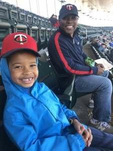 Jackie attended Minnesota Twins vs. Kansas City Royals - MLB on May 29th 2021 via VetTix