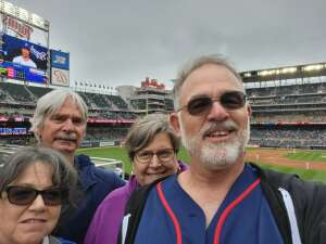 David Black attended Minnesota Twins vs. Kansas City Royals - MLB on May 30th 2021 via VetTix