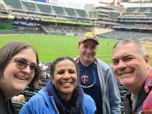 Minnick attended Minnesota Twins vs. Kansas City Royals - MLB on May 30th 2021 via VetTix